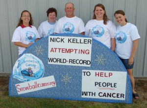 Melissa, Janet, Nick, Carrie, Julie (KFCF Members)